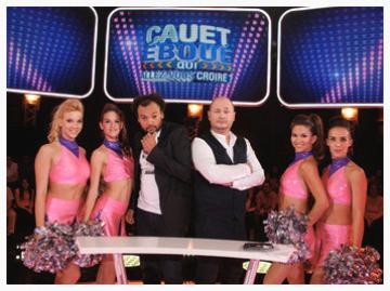 """les pom pom girls dance show cie dans l'émission """"Qui allez vous croire"""" Cauet"""