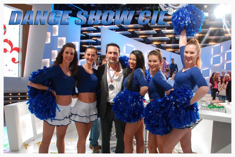 les pom pom girls dance show cie au Grand journal