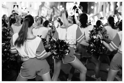les pom pom girls Dance Show Cie pour Chloé
