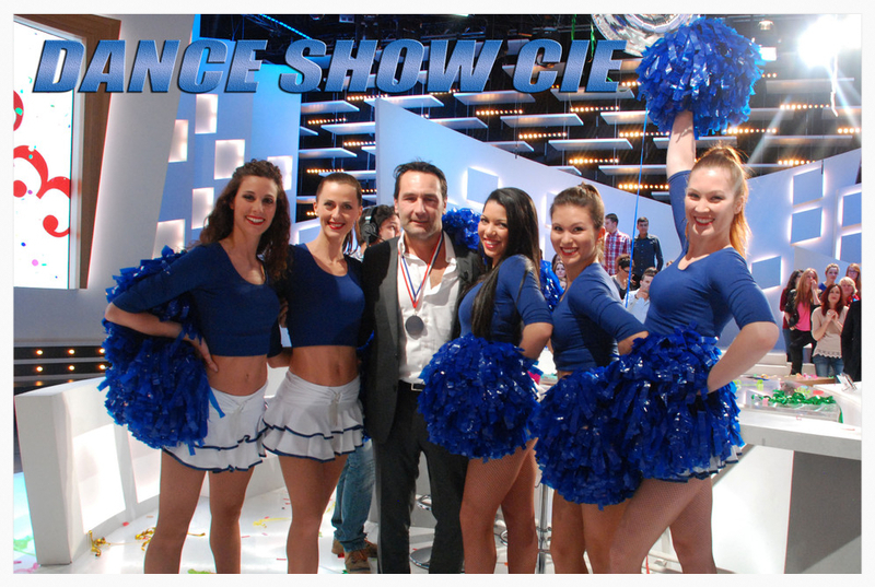 les pom pom girls dance show cie au Grand journal